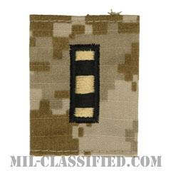 准尉 (CWO-4)(Chief Warrant Officer 4)[NWU Type2(AOR1)/ユニフォーム・パーカー用スライドオン階級章]の画像