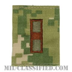 准尉 (WO-1)(Warrant Officer 1)[NWU Type3(AOR2)/ユニフォーム・パーカー用スライドオン階級章]の画像