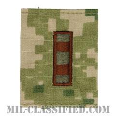 准尉 (CWO-2)(Chief Warrant Officer 2)[NWU Type3(AOR2)/ユニフォーム・パーカー用スライドオン階級章]の画像