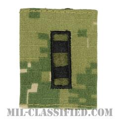 准尉 (CWO-4)(Chief Warrant Officer 4)[NWU Type3(AOR2)/ユニフォーム・パーカー用スライドオン階級章]の画像