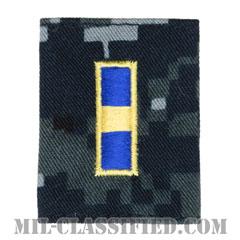 准尉 (WO-1)(Warrant Officer 1)[NWU Type1/ゴアテックスパーカー用スライドオン階級章]の画像