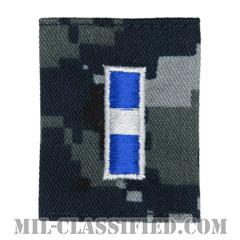 准尉 (CWO-3)(Chief Warrant Officer 3)[NWU Type1/ゴアテックスパーカー用スライドオン階級章]の画像