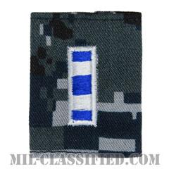 准尉 (CWO-4)(Chief Warrant Officer 4)[NWU Type1/ゴアテックスパーカー用スライドオン階級章]の画像