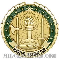 指導者章 (マスター・インストラクター)(Instructor Badge, Master)[カラー/バッジ]の画像
