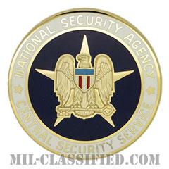 アメリカ国家安全保障局中央保安部(National Security Agency Central Security Service)[カラー/バッジ]の画像
