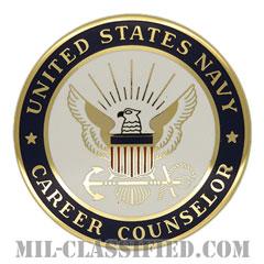 海軍キャリアカウンセラー章(NAVY Career Counselor Badge)[カラー/バッジ]の画像