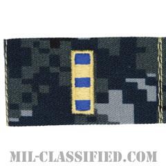 准尉 (CWO-2)(Chief Warrant Officer 2)[NWU Type1/襟用階級章/生地テープパッチ/ペア(2枚1組)]の画像