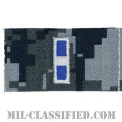 准尉 (CWO-3)(Chief Warrant Officer 3)[NWU Type1/襟用階級章/生地テープパッチ/ペア(2枚1組)]の画像