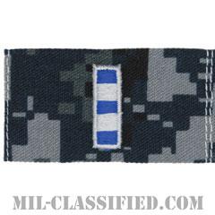 准尉 (CWO-4)(Chief Warrant Officer 4)[NWU Type1/襟用階級章/生地テープパッチ/ペア(2枚1組)]の画像