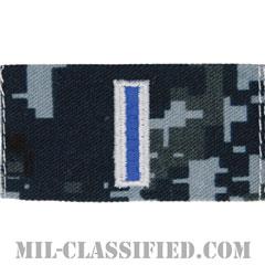 准尉 (CWO-5)(Chief Warrant Officer 5)[NWU Type1/襟用階級章/生地テープパッチ/ペア(2枚1組)]の画像