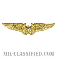 無人航空機システム章 (将校用)(Unmanned Aircraft Systems (UAS) Officer)[カラー/鏡面仕上げ/バッジ]の画像