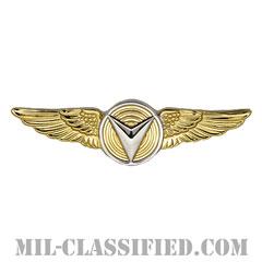 無人航空機システム章 (下士官用)(Unmanned Aircraft Systems (UAS) Operator, Enlisted)[カラー/鏡面仕上げ/バッジ]の画像