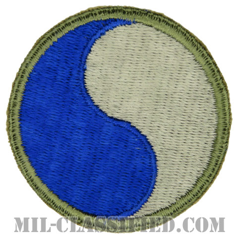 第29歩兵師団(29th Infantry Division)[カラー/カットエッジ/パッチ/1点物]の画像