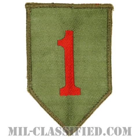 第1歩兵師団(1st Infantry Division)[カラー/カットエッジ/パッチ/機械織り/中古1点物]の画像