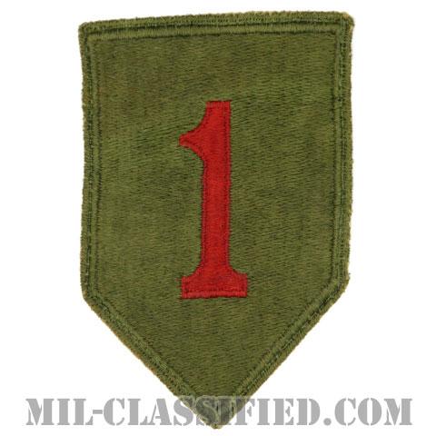 第1歩兵師団(1st Infantry Division)[カラー/カットエッジ/パッチ/中古1点物]の画像