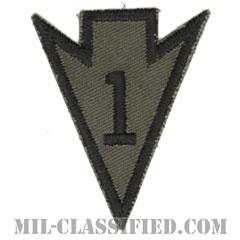 第1騎兵師団リコンドースクール(1st Cavalry Division Recondo School)[サブデュード/カットエッジ/パッチ/1点物]の画像