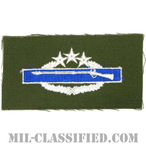 戦闘歩兵章 (フォース)(Combat Infantryman Badge (CIB), Fourth Award)[カラー/パッチ]の画像