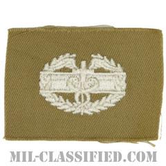 戦闘医療章 (ファースト)(Combat Medical Badge (CMB), First Award)[カラー/カーキ生地/パッチ/1点物]の画像