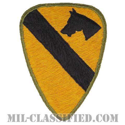 第1騎兵師団(1st Cavalry Division)[カラー/カットエッジ/パッチ/ローカルメイド(日本製)/中古1点物]の画像