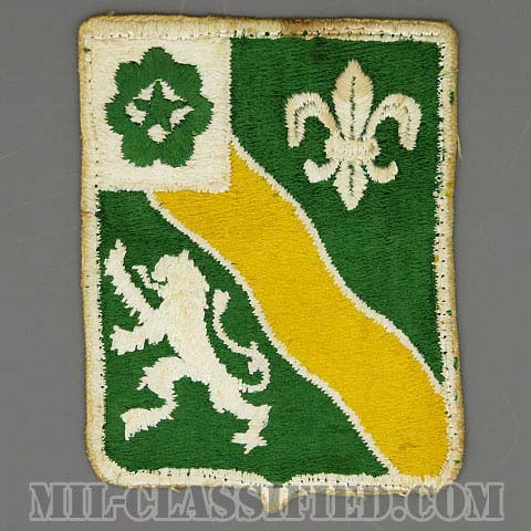 第63機甲連隊(63rd Armor Regiment)[カラー/カットエッジ/パッチ/中古1点物]の画像