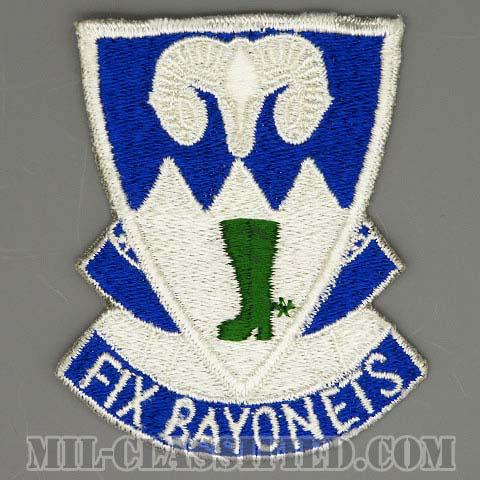第85歩兵連隊(85th Infantry Regiment)[カラー/カットエッジ/パッチ/1点物]の画像