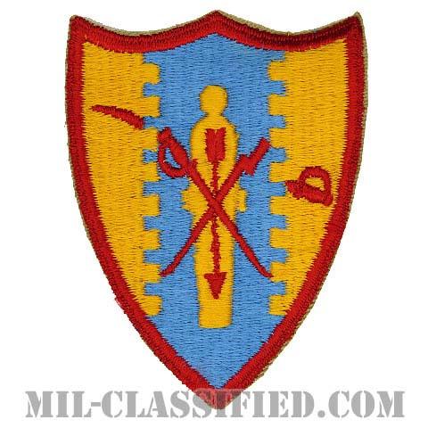第4騎兵連隊(4th Cavalry Regiment)[カラー/カットエッジ/パッチ/1点物]の画像