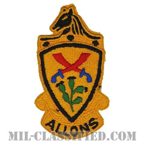 第11機甲騎兵連隊(11th Armored Cavalry Regiment)[カラー/カットエッジ/パッチ/1点物]の画像