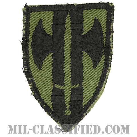 第18憲兵旅団(18th Military Police Brigade)[サブデュード/カットエッジ/パッチ/ローカルメイド/中古1点物]の画像