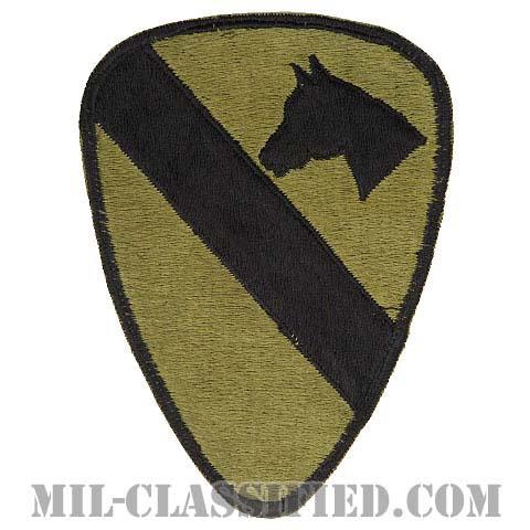 第1騎兵師団(1st Cavalry Division)[サブデュード/カットエッジ/パッチ/ローカルメイド(日本製)/中古1点物]の画像