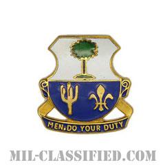 第163歩兵連隊(163rd Infantry Regiment)[カラー/クレスト(Crest・DUI・DI)バッジ]の画像