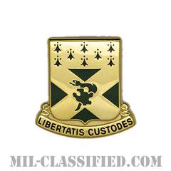 第201工兵大隊(201st Engineer Battalion)[カラー/クレスト(Crest・DUI・DI)バッジ]の画像