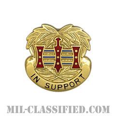 第394需品大隊(394th Quartermaster Battalion)[カラー/クレスト(Crest・DUI・DI)バッジ]の画像