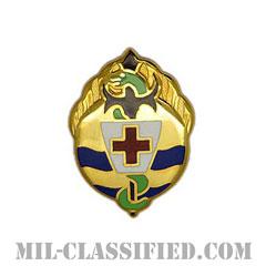 第395戦闘支援病院(395th Combat Support Hospital)[カラー/クレスト(Crest・DUI・DI)バッジ]の画像