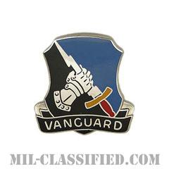 第297軍事情報大隊(297th Military Intelligence Battalion)[カラー/クレスト(Crest・DUI・DI)バッジ]の画像