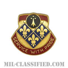 第434野戦砲兵旅団(434th Field Artillery Brigade)[カラー/クレスト(Crest・DUI・DI)バッジ]の画像