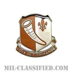 第69通信大隊(69th Signal Battalion)[カラー/クレスト(Crest・DUI・DI)バッジ]の画像