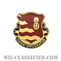 第174防空砲兵連隊(174th Air Defense Artillery Regiment)[カラー/クレスト(Crest・DUI・DI)バッジ]の画像