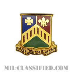 第127機甲連隊(127th Armor Regiment)[カラー/クレスト(Crest・DUI・DI)バッジ]の画像