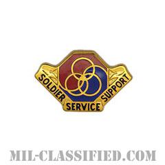 第8人事コマンド(8th Personnel Command)[カラー/クレスト(Crest・DUI・DI)バッジ]の画像