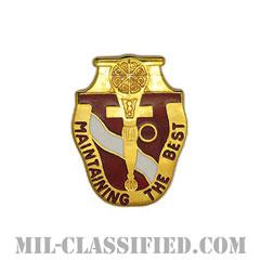 第787支援大隊(787th Support Battalion)[カラー/クレスト(Crest・DUI・DI)バッジ]の画像