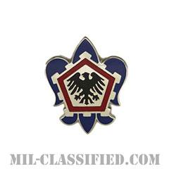 第555工兵旅団(555th Engineer Brigade)[カラー/クレスト(Crest・DUI・DI)バッジ]の画像