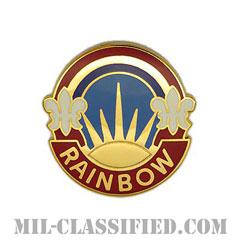 第42歩兵師団(42nd Infantry Division)[カラー/クレスト(Crest・DUI・DI)バッジ]の画像