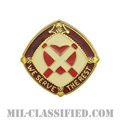 第3343陸軍病院(3343rd US Army Hospital)[カラー/クレスト(Crest・DUI・DI)バッジ]の画像