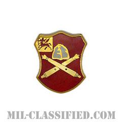 第10野戦砲兵連隊(10th Field Artillery Regiment)[カラー/クレスト(Crest・DUI・DI)バッジ]の画像