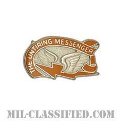 第130通信大隊(130th Signal Battalion)[カラー/クレスト(Crest・DUI・DI)バッジ]の画像