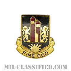 カリフォルニア大学ペンシルベニア校予備役将校訓練課程(California University of Pennsylvania ROTC)[カラー/クレスト(Crest・DUI・DI)バッジ]の画像
