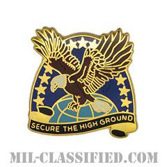 陸軍宇宙ミサイル防衛コマンド(Space And Missile Defense Command)[カラー/クレスト(Crest・DUI・DI)バッジ]の画像