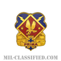 第10防空ミサイル防衛コマンド(10th Air and Missile Defense Command)[カラー/クレスト(Crest・DUI・DI)バッジ]の画像