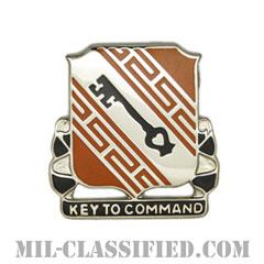 第50通信大隊(50th Signal Battalion)[カラー/クレスト(Crest・DUI・DI)バッジ]の画像