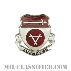 第469工兵大隊(469th Engineer Battalion)[カラー/クレスト(Crest・DUI・DI)バッジ]の画像
